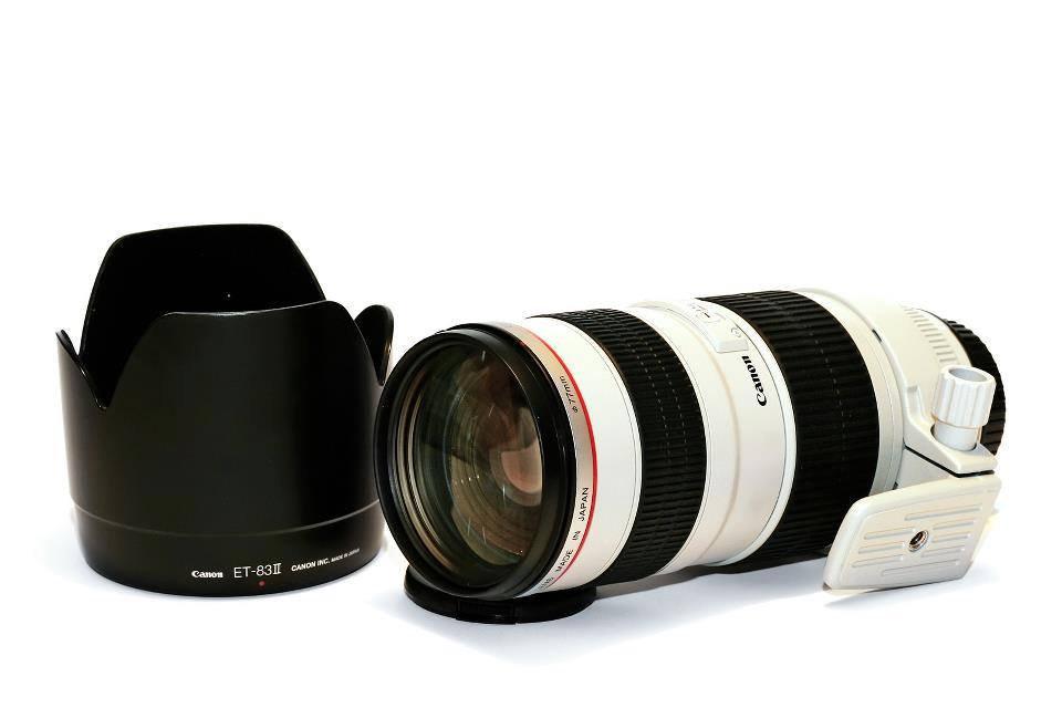 Canon EF 70-200mm f2.8L IS II
